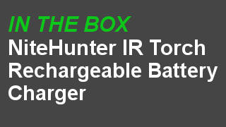 NiteHunter Infra red led hunting torch